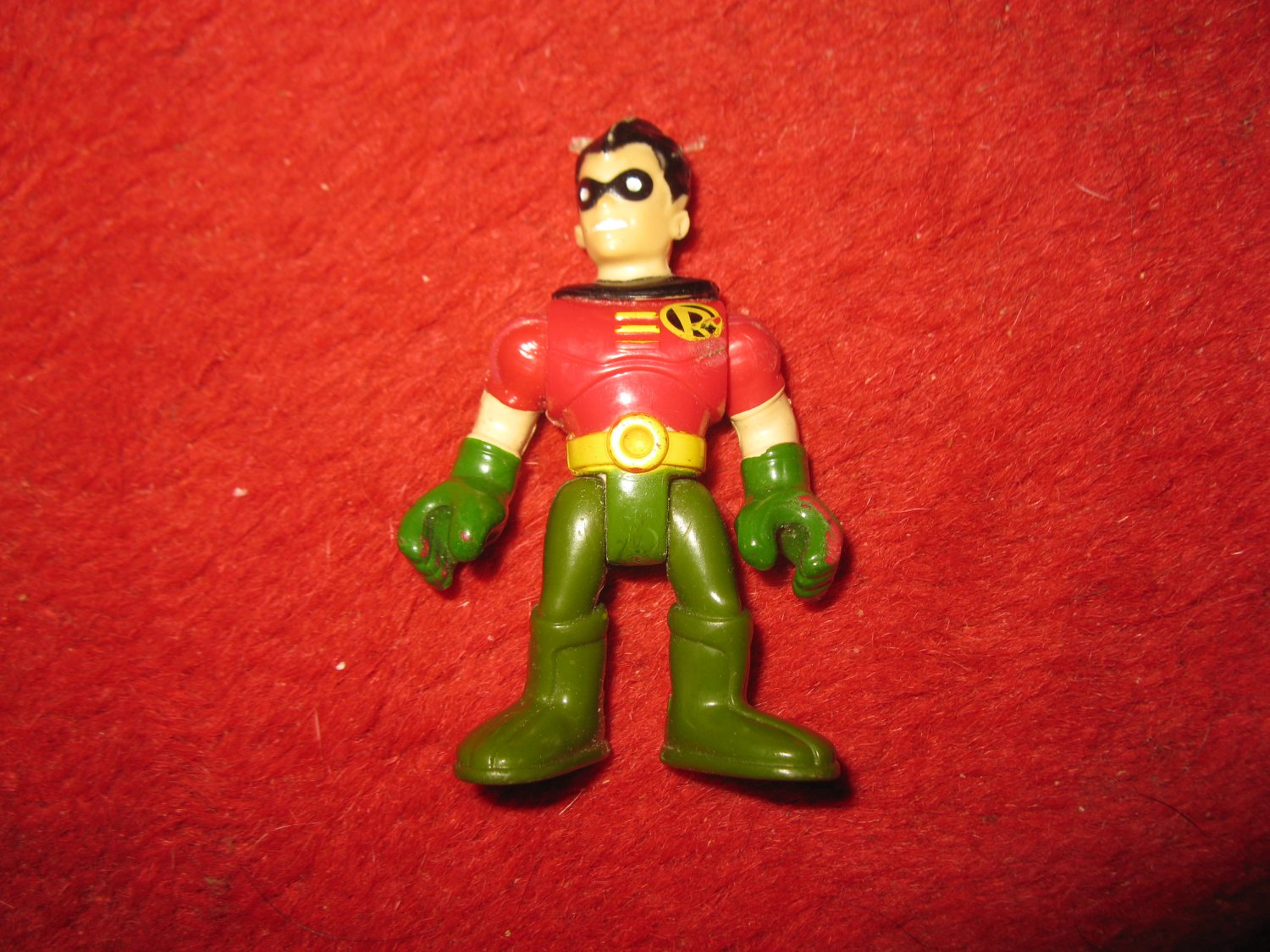 2008 DC Comics Mini Action Figure: Robin the Boy Wonder