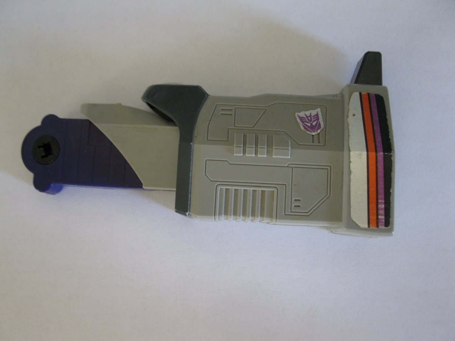 G1 Transformers Action figure part: 1986 Galvatron - Full Right Leg