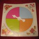 1983 Strawberry Shortcake Housewarming Surprise Board Game Piece: Game Spinner