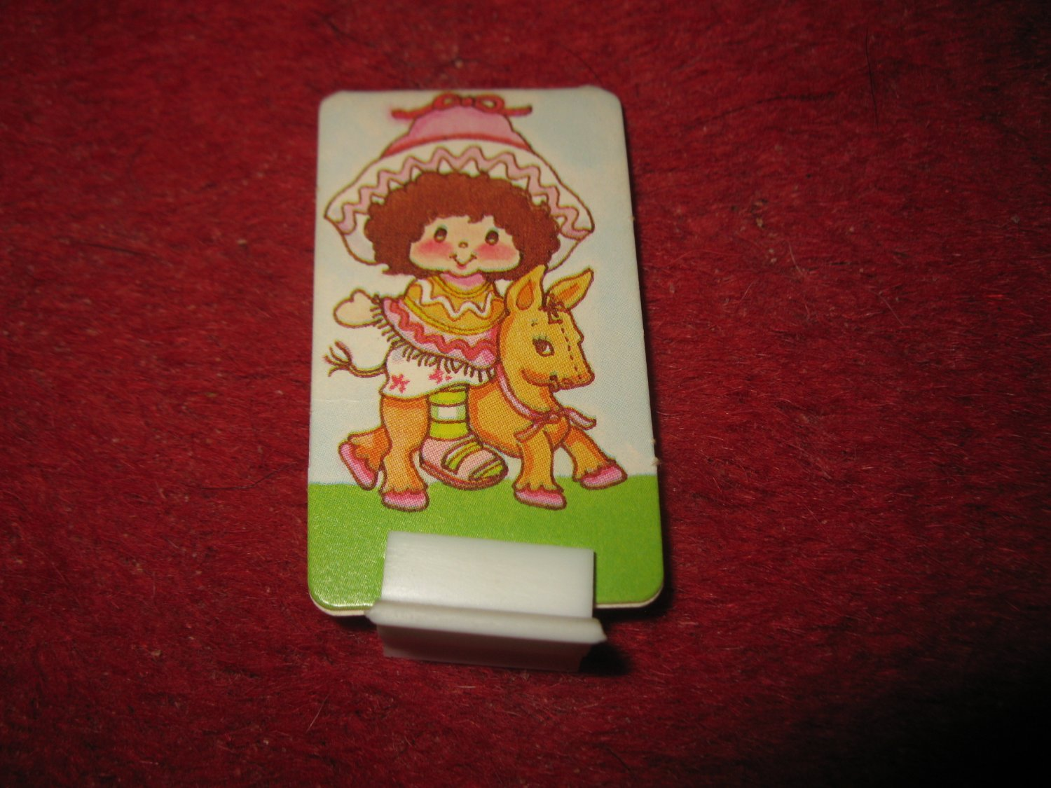 1983 Strawberry Shortcake Housewarming Surprise Board Game Piece: Cafe Ole Character