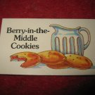 1983 Strawberry Shortcake Housewarming Surprise Board Game Piece: Recipe Card #2