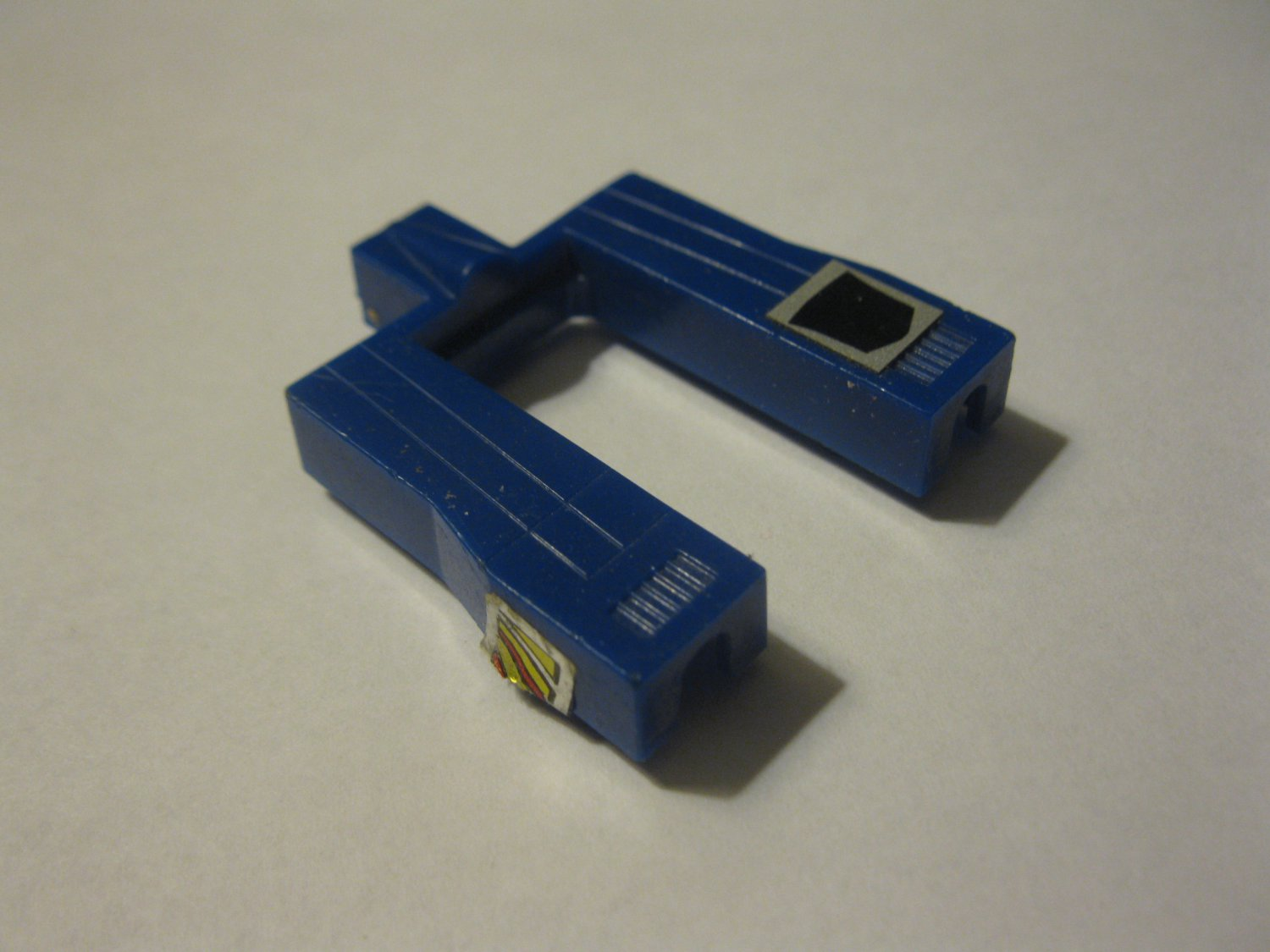 G1 Transformers Action figure part: 1983 Dirge- Top section of Jet