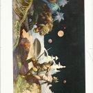 "vintage Frank Frazetta 11"" x 9"" Book Plate Print - Thuvia, Maid of Mars"