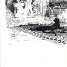 "vintage Frank Frazetta 11"" x 9"" Book Plate Print -Sheba"