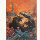 "vintage Frank Frazetta 11"" x 9"" Book Plate Print -Gulliver of Mars"