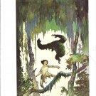 """vintage Frank Frazetta 11"""" x 9"""" Book Plate Print -Jungle Tales of Tarzan"""