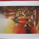 "vintage Boris Vallejo: The Best of Leigh Brackett - 11.5"" x 8.5"" Book Plate Print"