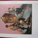 "vintage Boris Vallejo: Tarnsmanof Gor - 11.5"" x 8.5"" Book Plate Print"