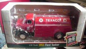 1953 Ford Tanker Aviation Fuel TEXACO Truck MIB 1/30