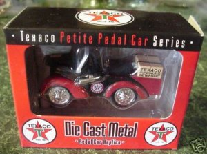 Texaco PackageTruck 3 Pedal Car Series Authenticity MIB