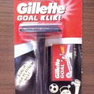 GILLETTE Goal Klik Safety Razor + 7 GILLETTE Double Edge Razor Blades