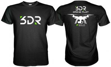 NEW 3DR SOLO DRONE T SHIRT DRONE PILOT  S M L XL 2XL 3XL