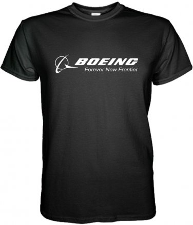BOEING T-SHIRT Aerospace Aviation Size S, M, L, XL, 2XL, 3XL