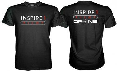 NEW INSPIRE 1 DRONE PILOT  TSHIRT DJI DRONE S M L XL 2XL 3XL