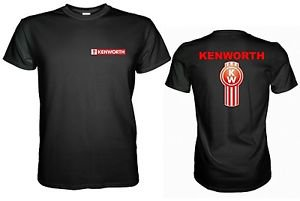 New Kenworth Truck Logo Black Mens Tshirt Size S, L, M, XL, XXL, 3XL