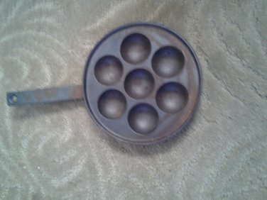 Vintage Cast Iron Muffin Skillet