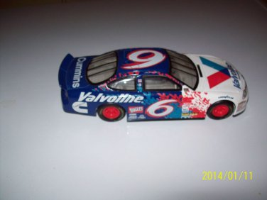 Racing Champions Preview NASCAR #6  Valvoline/Cummins Diecast Car 1/24