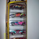 Matchbox 5 Pack Sleek Riders 1996s Set 1.64, cars