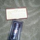 Vintage 70s Evan Curtis Radio & Television Service Rocket Lighter