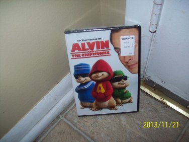 Alvin and the Chipmunks The Movie (DVD, 2007