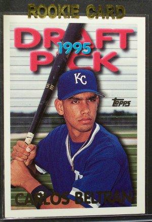 1995 Topps Traded Rookie # 18T Carlos Beltran