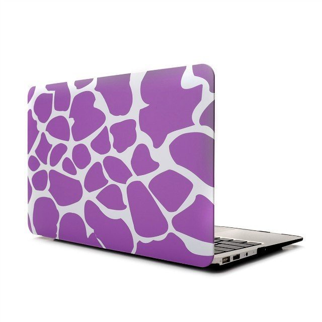 "Ultra Slim Giraffe's Spots Hard Case for MacBook Air 11.6"" & Free Keyboard Cover(Random)-283B"