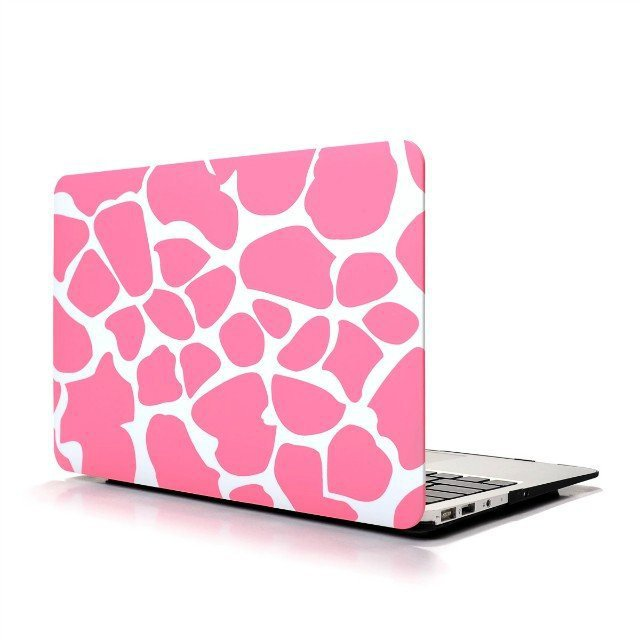 "Ultra Slim Giraffe's Spots Hard Case for MacBook Air 11.6"" & Free Keyboard Cover(Random)-283C"
