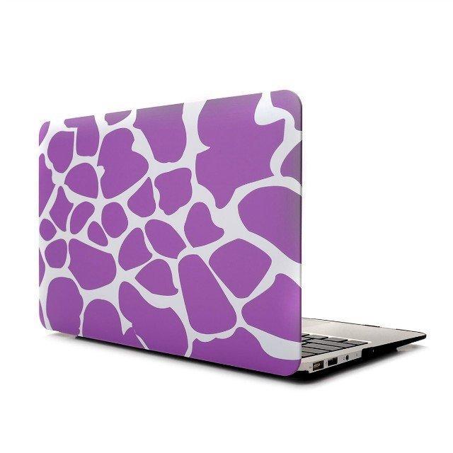 "Ultra Slim Giraffe's Spots Hard Case for MacBook Air 13.3"" & Free Keyboard Cover(Random)-287B"