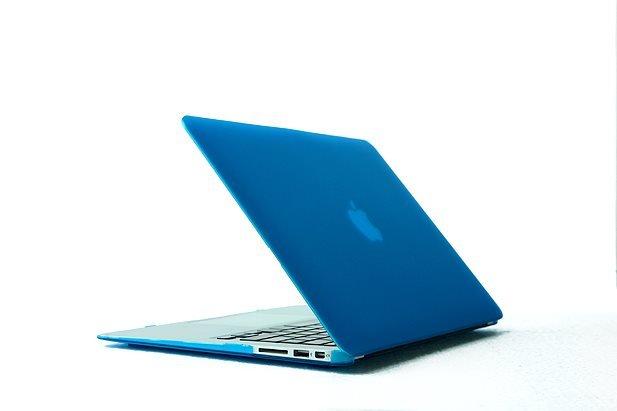 "Ultra Slim Anti Glare Hard Case for MacBook Air 13.3"" (Lightblue) & Free Keyboard Cover(Random)-288B"