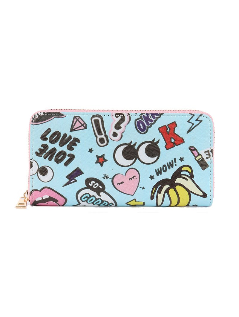 POP ICON CLUTCH WALLET