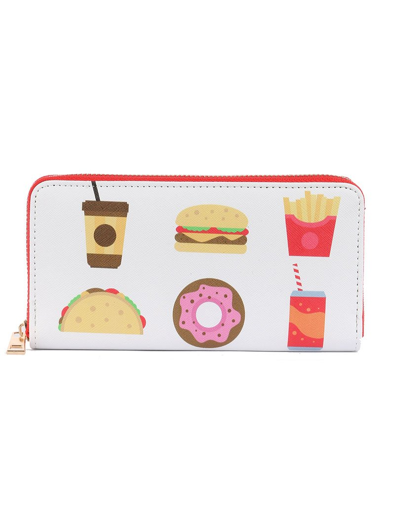 FAST FOOD CLUTCH WALLET