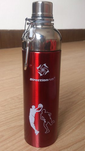 Direction Stainless Steel Vacuum Flask Outdoor Sports Water Bottle Thermos 17oz