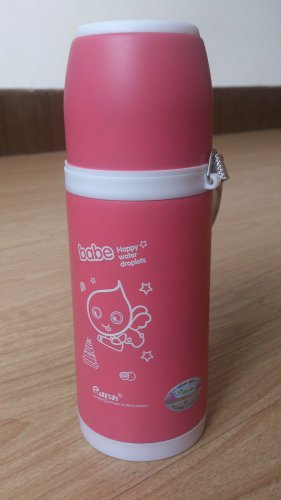 Edish Stainless Steel Vacuum Flask Tea Coffee Water Bottle Thermos 12oz Cartoon