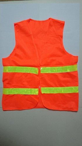 High Visiblity Security Reflective Vest Safety Vest Flourescent Orange