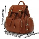 100% Real Leather Girl Cute Backpack Satchel Handbag Purse Leisure Stroll Style