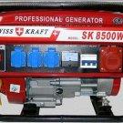 Gasoline Generator Swiss Kraft SK 8500W 6.5HP 220V / 380V NEW!