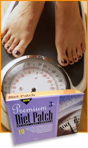 Premium Diet Patch-Lose Weight the Natural Way-100% Natural-No Pills