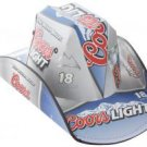 Coors Light Cowboy Style Beer Box Hat