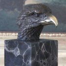 American Bald Eagle Bust Bronze Sculpture