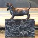 Bassett Hound Bronze Sculpture