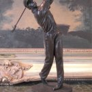 Swinging Golfer Athlete Bronze Sculpture