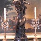 Roman Goddess Ceres and Cherubs Bronze Sculpture