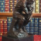 "Rodin's ""The Thinker"" Bronze Sculpture"