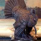 Thanksgiving Turkey Gobble Gobble Bronze Sculpture