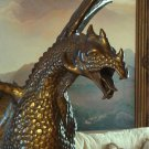 HUGE Game of Thrones Drogon Dragon Solid Bronze Sculpture