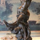 Mythological Greek Goddess Selene Bronze Sculpture