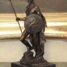 Roman Gladiator Warrior Spartacus Bronze Sculpture
