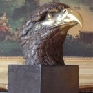 Amerian Eagle Bust Bronze Sculpture