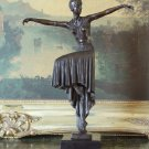 Dancer of the Art Deco Era  Bronze Sculpture