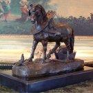 Equestrian Horse Bronze Sculpture